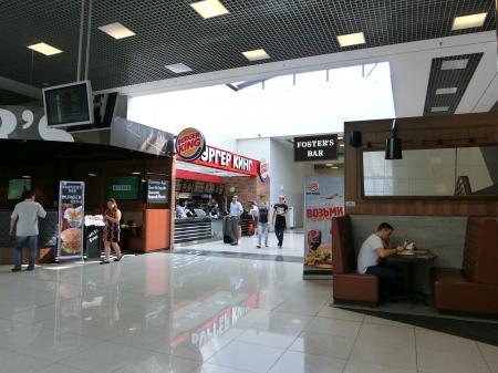 モスクワ・シェレメーチエヴォ国際空港 レストラン16