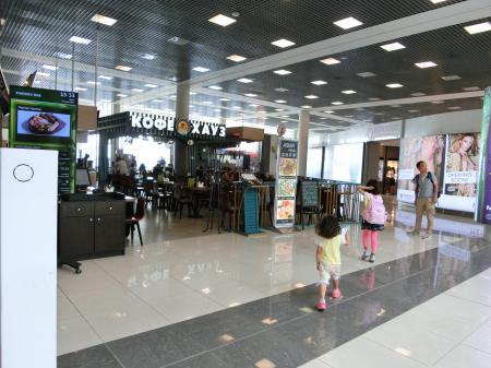 モスクワ・シェレメーチエヴォ国際空港 レストラン17