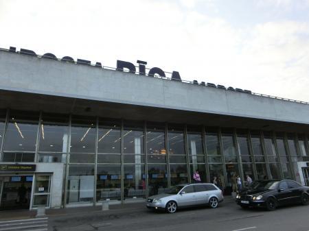 リガ空港1