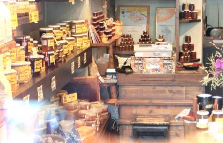 リガのお土産(ダウグマレス蜂蜜店)2