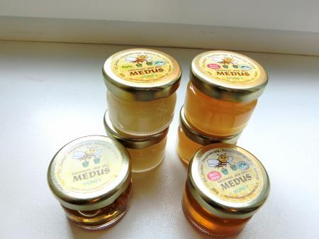 リガのお土産(ダウグマレス蜂蜜店)3