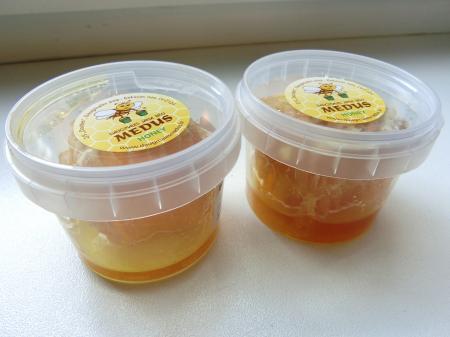 リガのお土産(ダウグマレス蜂蜜店)4