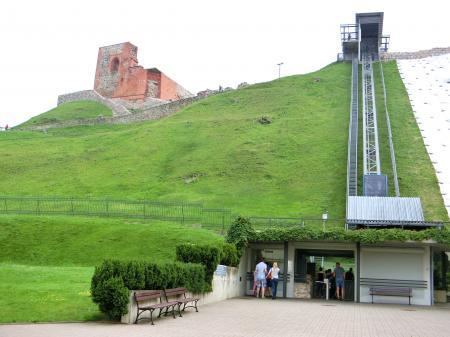 ゲディミナス城(展望台)2