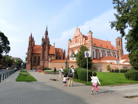 聖アンナ教会とベルナルディン教会1