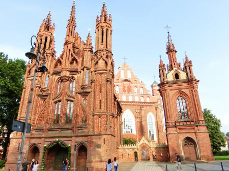 聖アンナ教会とベルナルディン教会2