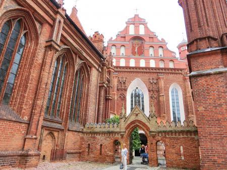聖アンナ教会とベルナルディン教会5