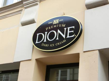 DIONE(リトアニアのアイスクリーム)1