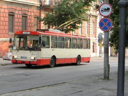 リトアニアのトロリーバス1