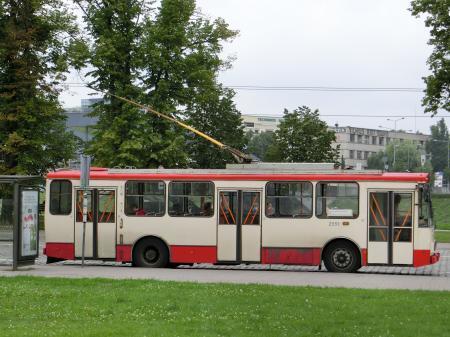 リトアニアのトロリーバス3