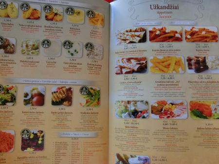 リトアニア・パンケーキレストラン「Gusto Blynine」12