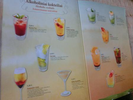 リトアニア・パンケーキレストラン「Gusto Blynine」11