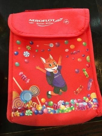 アエロフロートの子供用おもちゃ1
