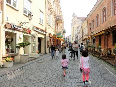 ヴィリニュスの街並み3