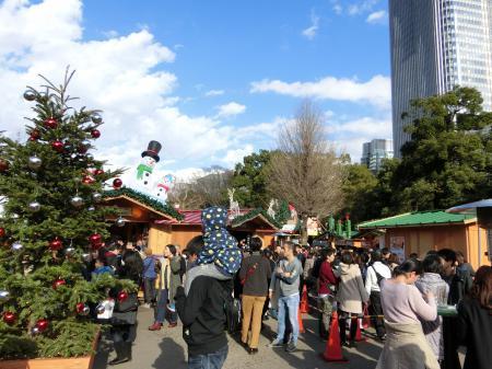 日比谷 東京クリスマスマーケット1