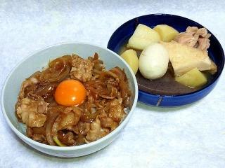 160610_4000豚コマと玉葱のスタミナ丼・おでんVGA