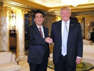 161118_トランプ次期大統領と安倍首相の会談 AAkrcCk VGA
