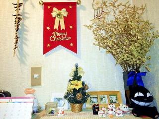 161125_4327 クリスマス1ヶ月前・我が家の玄関飾り 横VGA