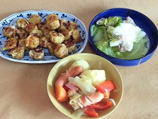 161202_4340 カレー風味の焼きシウマイ・豚肉と白菜の水炊き風・ポトフVGA