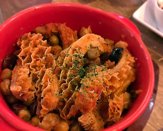 トリッパのトマト煮込みフィレンツェ風