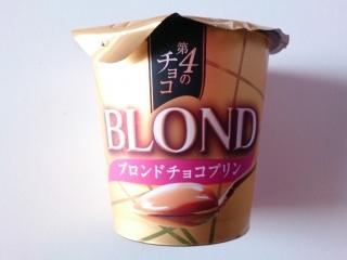 BLONDチョコプリン
