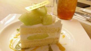 アンリシャルパンティエ メロンショートケーキ