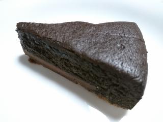 セブンイレブン ブラックガトーショコラ¥180