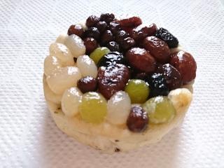 ローソン しっとりした豆のパン 北海道産豆の甘納豆使用¥150a