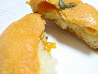 ローソン まるでかぼちゃパン¥135b