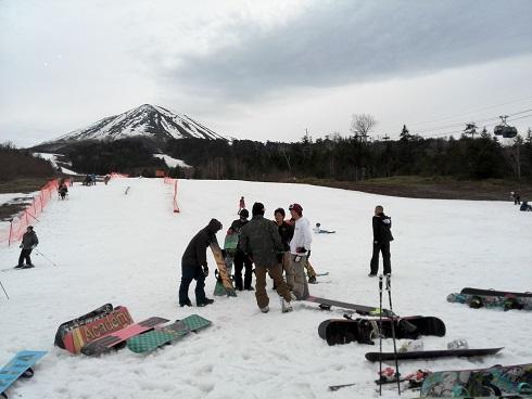 2 チャオ御嶽スキー場のゲレンデ