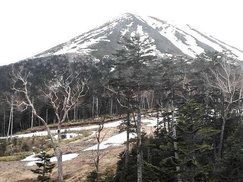 4 ゴンドラから御嶽山を望む