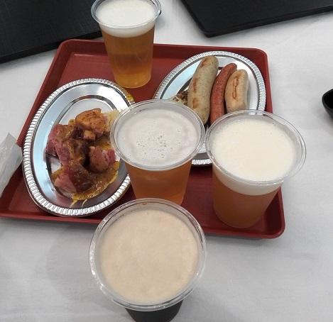 3  ドイツビールと料理