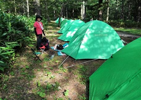 5 我が家のテント