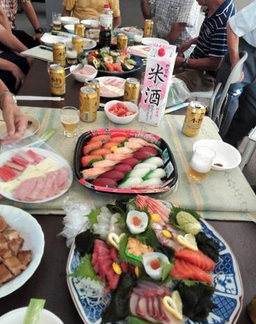 2 宴会の料理