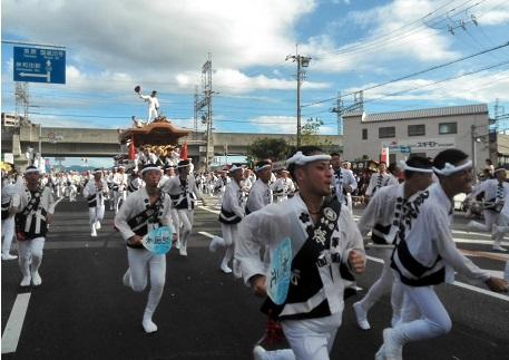32 岸和田・だんじり祭り