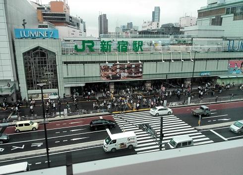 2 バスタからJR新宿駅