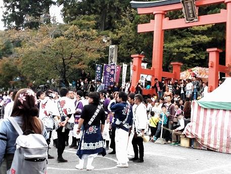 1 龍田大社のお祭り