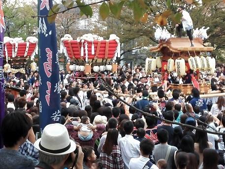 3 秋祭り