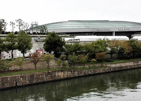 3 大阪城新橋・北詰より大阪城ホール