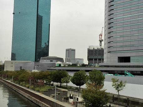 4 3 大阪城新橋・北詰よりビジネスパーク方面