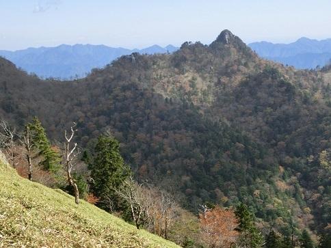7 大日岳が見えた