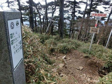 10 大峰奥駈道に合流