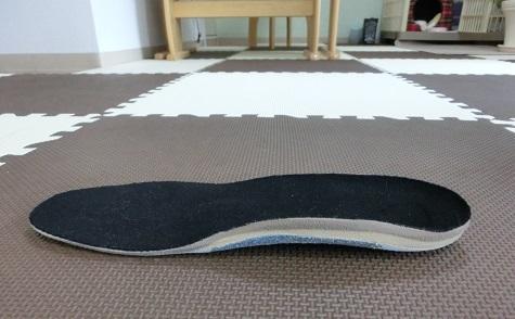 3 靴底の補正具・側面