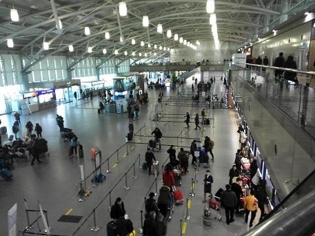 9 釜山空港内の様子