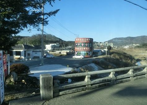 2 仏国寺から慶州への景色