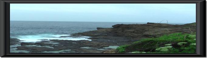 宇久島灯台下真珠船