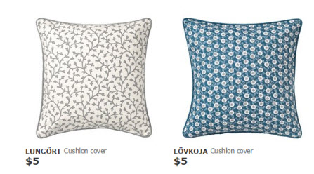 ikea cushion covers