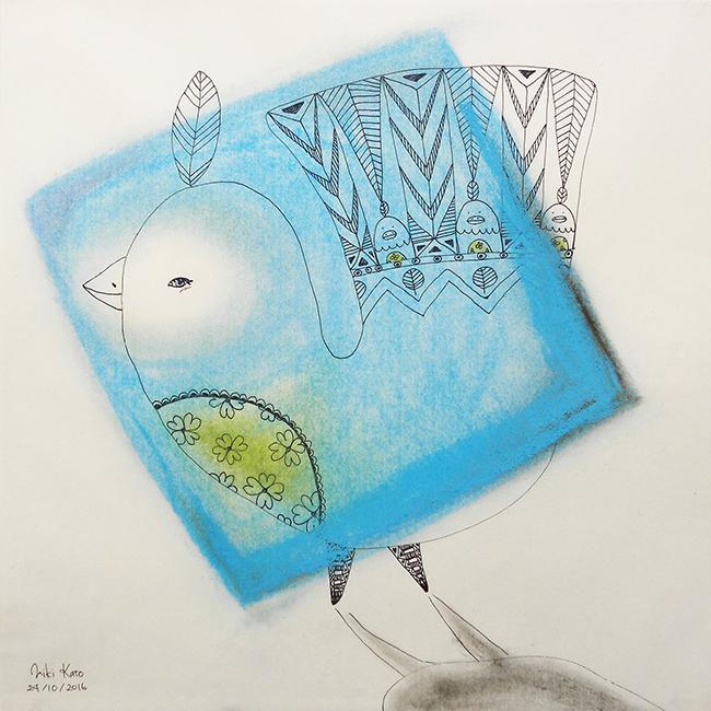 A blue bird 2
