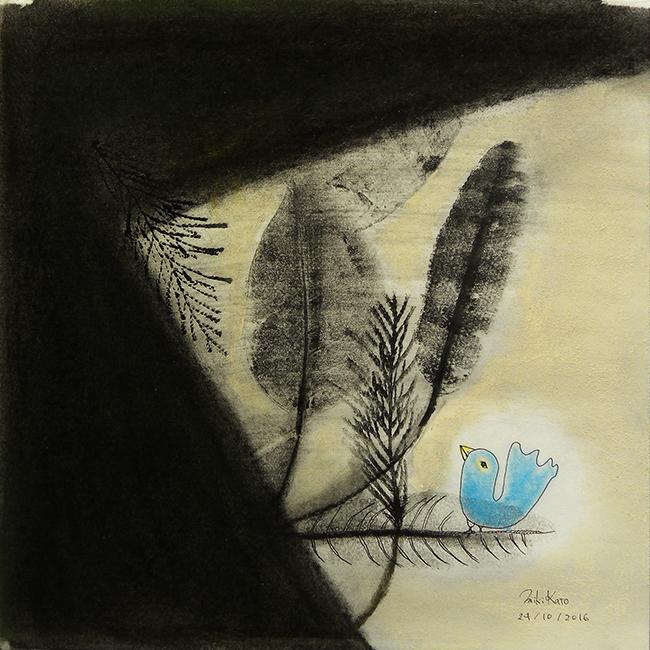 A blue bird 1