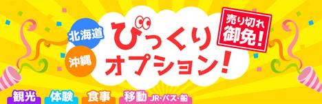 JAはL、北海道・沖縄限定で超格安の100円「びっくりオプション」を開催!