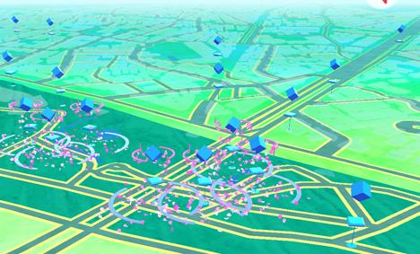 これは、都内で人気の北区にある飛鳥山公園です。